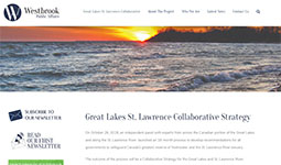 Image of Great Lakes St Lawrence Collaboration newsletter